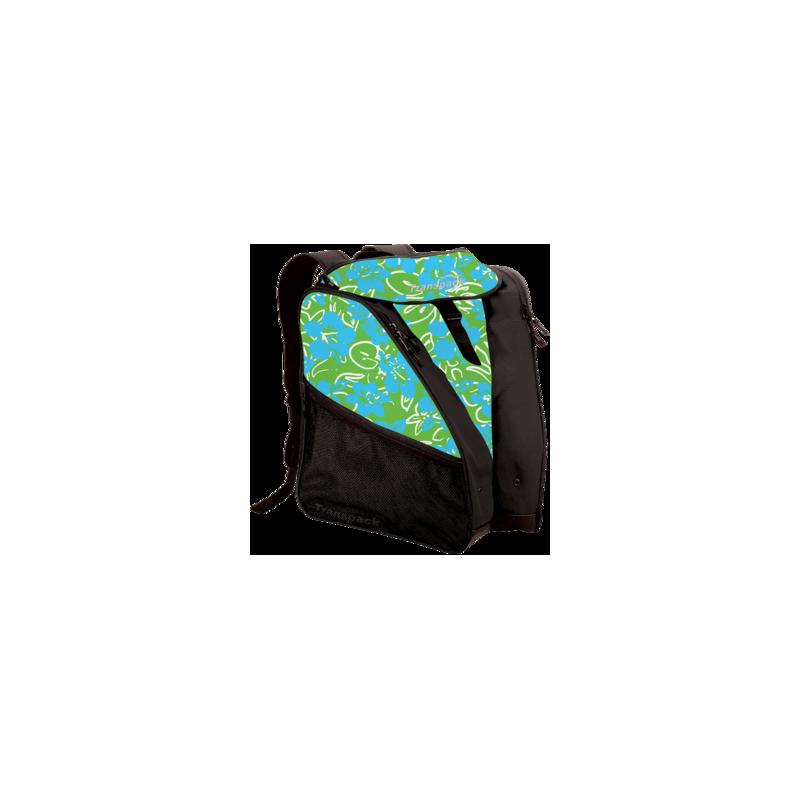 sac à dos vert et noir.